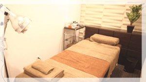 個室型鍼灸治療スペース